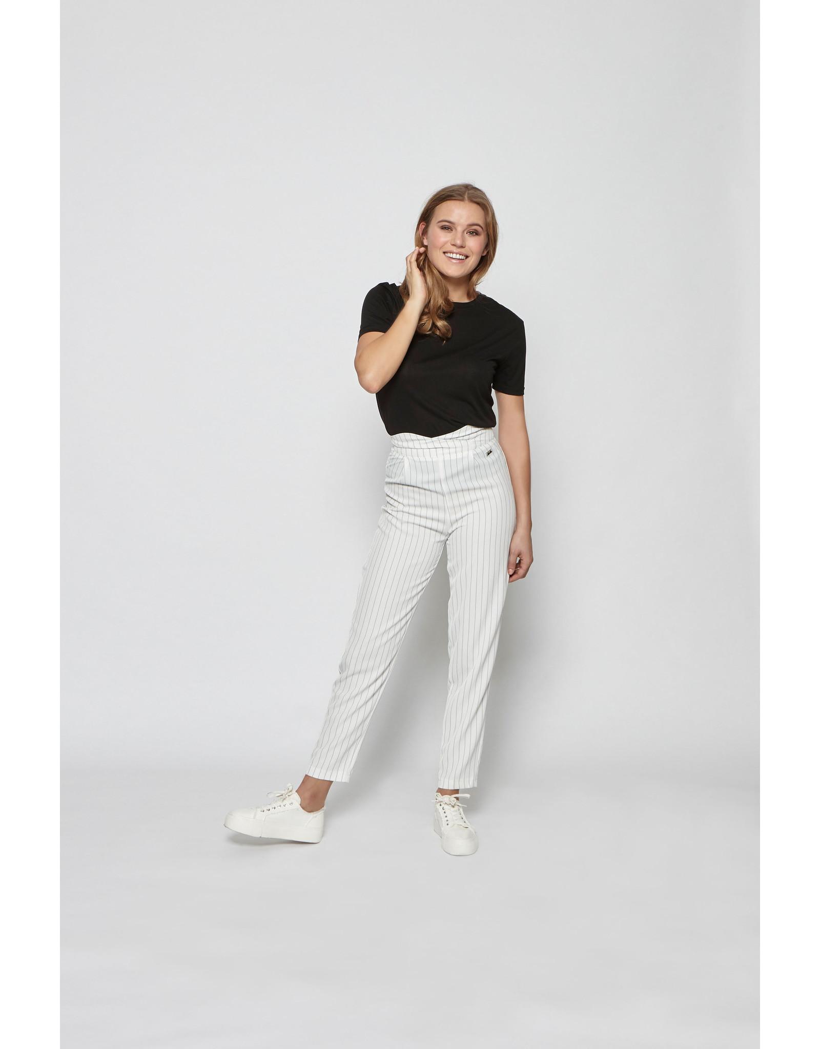 Lofty Manner Trouser Gitana White
