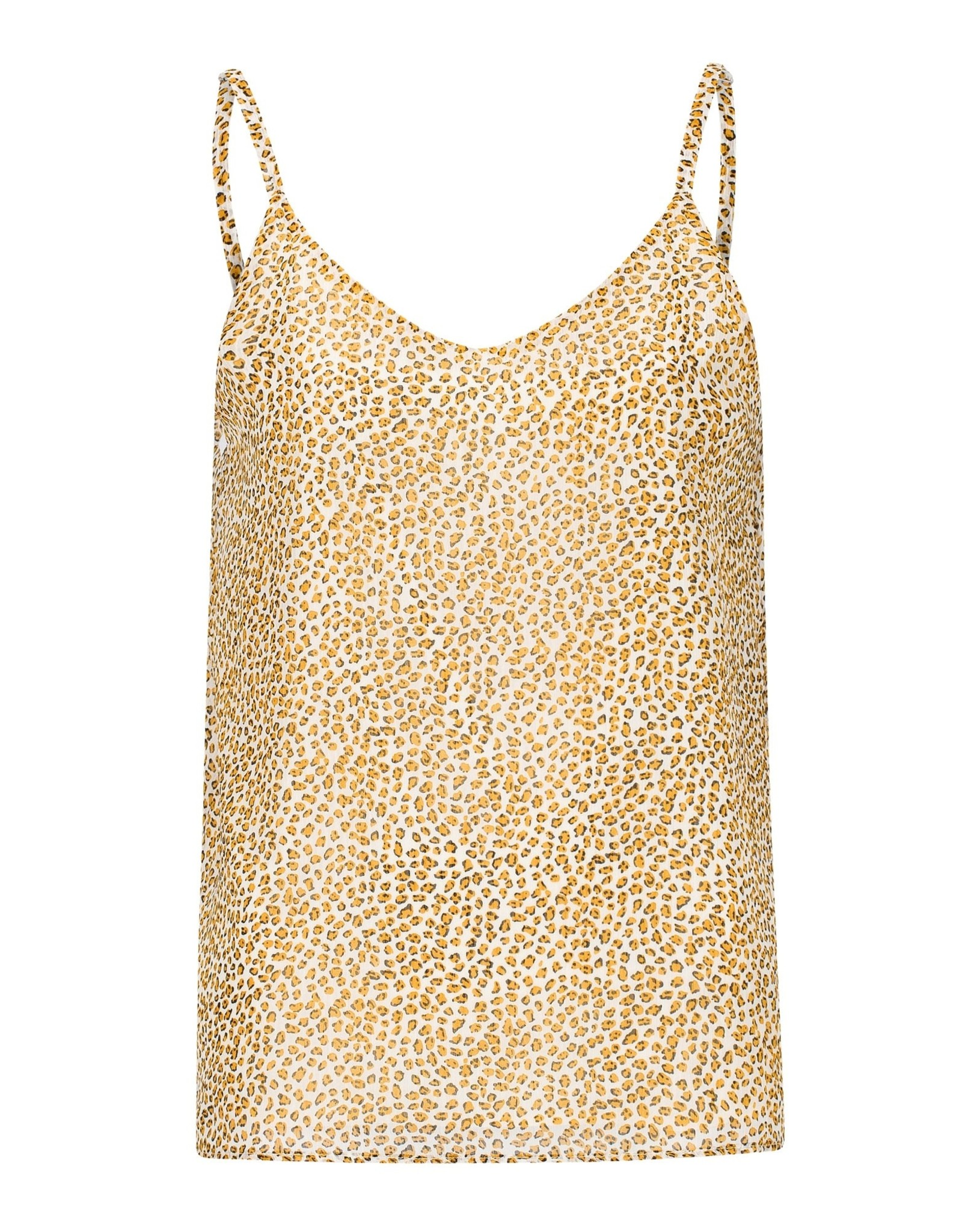 Ydence Top Julie Yellow Leopard