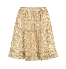 Ydence Skirt Isa Yellow Leopard