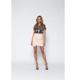 Lofty Manner Skirt Sherry Pink