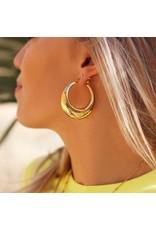 My Jewellery Big Statement 70's Hoops My Jewellery