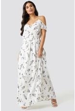 Rut & Circle Flower Long Dress Flower Comb