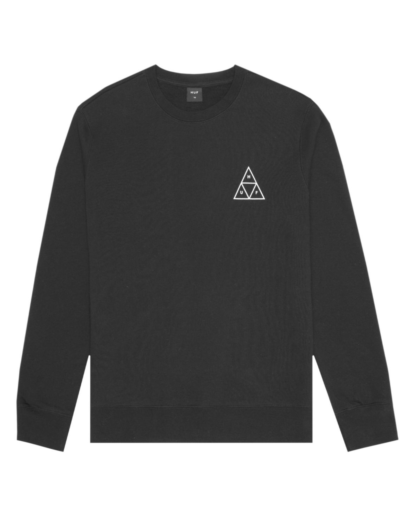 HUF Essentials TT Crew HUF Black