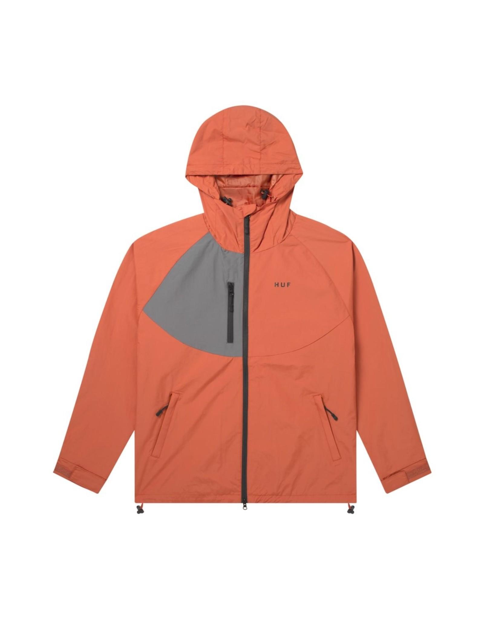 HUF Shell Standard 2 Jacket HUF Rust