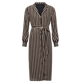 Ydence Mare Dress Black Stripes