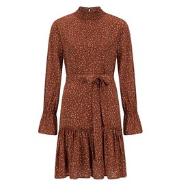 Ydence Dress Annmary Rust Flower Print Ouinn