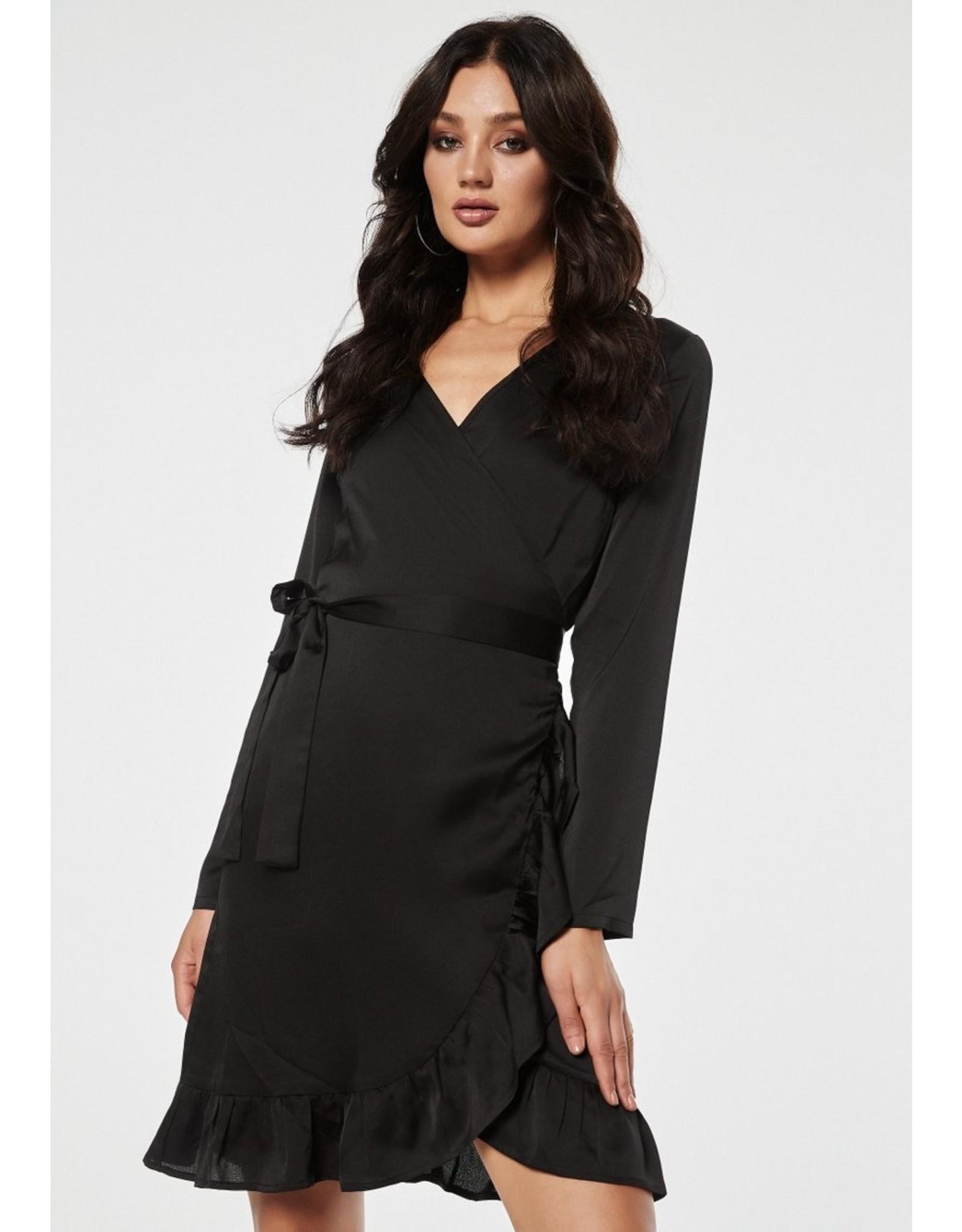 Rut & Circle Inez Wrap Mid Dress