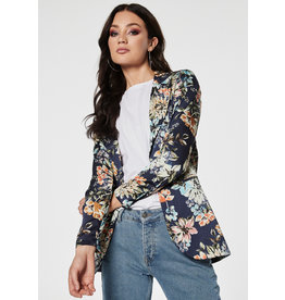 Rut & Circle Jennie Blazer Blue Flower