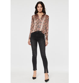 Rut & Circle Victoria Split Jeans Black Wash