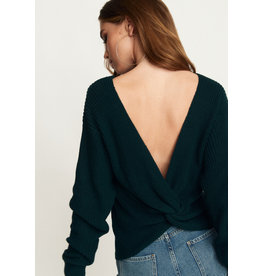 Rut & Circle Sara Knot Back Knit Emerald Green