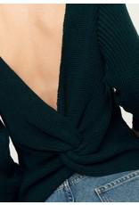 Rut & Circle Sara Knot Back Knit Emerald Green