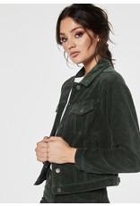 Rut & Circle Nova Cord Jacket Dark Green