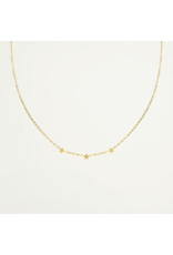 My Jewellery Ketting Drie Sterretjes Goud 054046