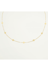 My Jewellery Ketting 7 muntjes Goud 053698