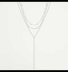 My Jewellery Drie Dubbele Ketting Zilver