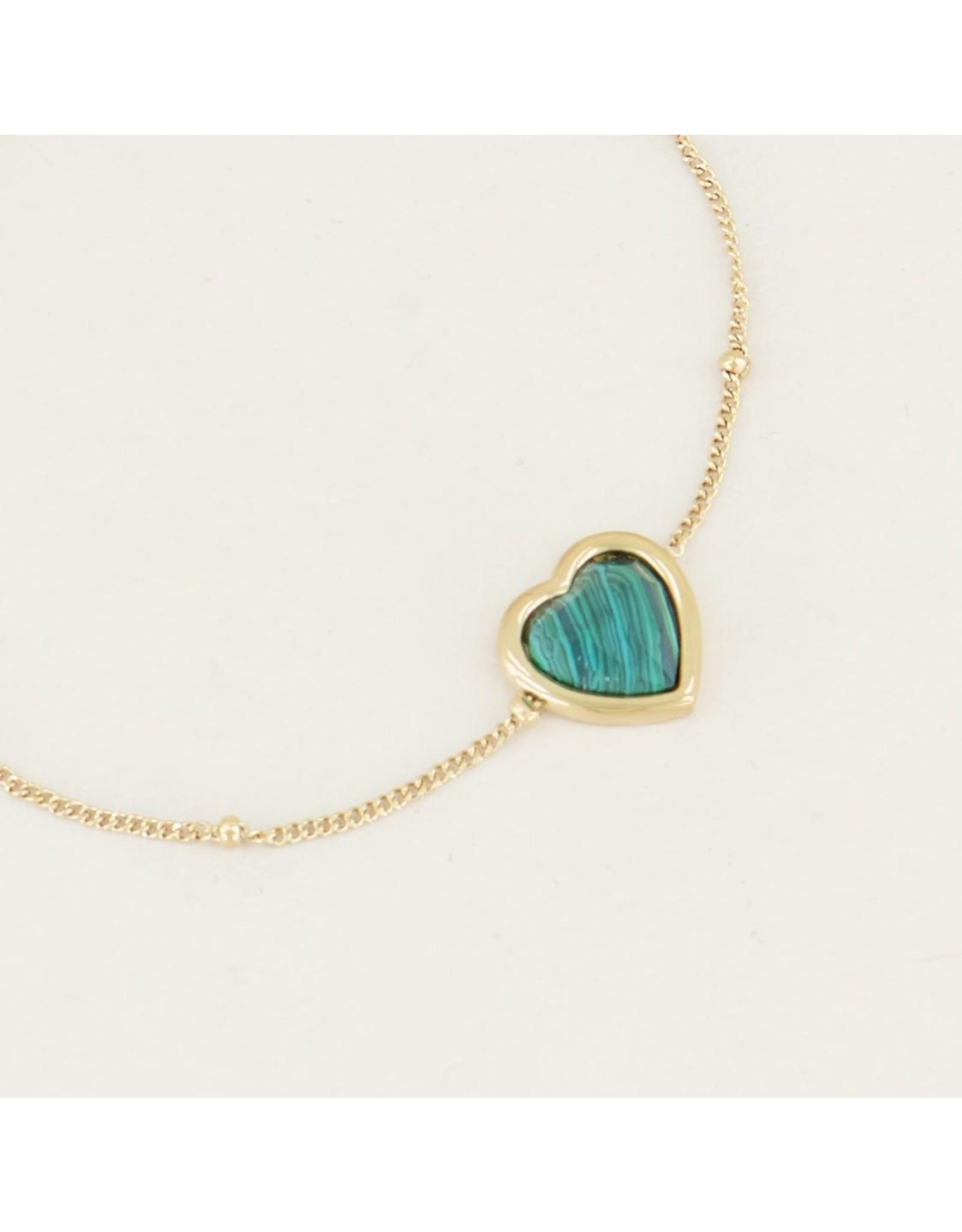 My Jewellery Armband Malachite Hartje