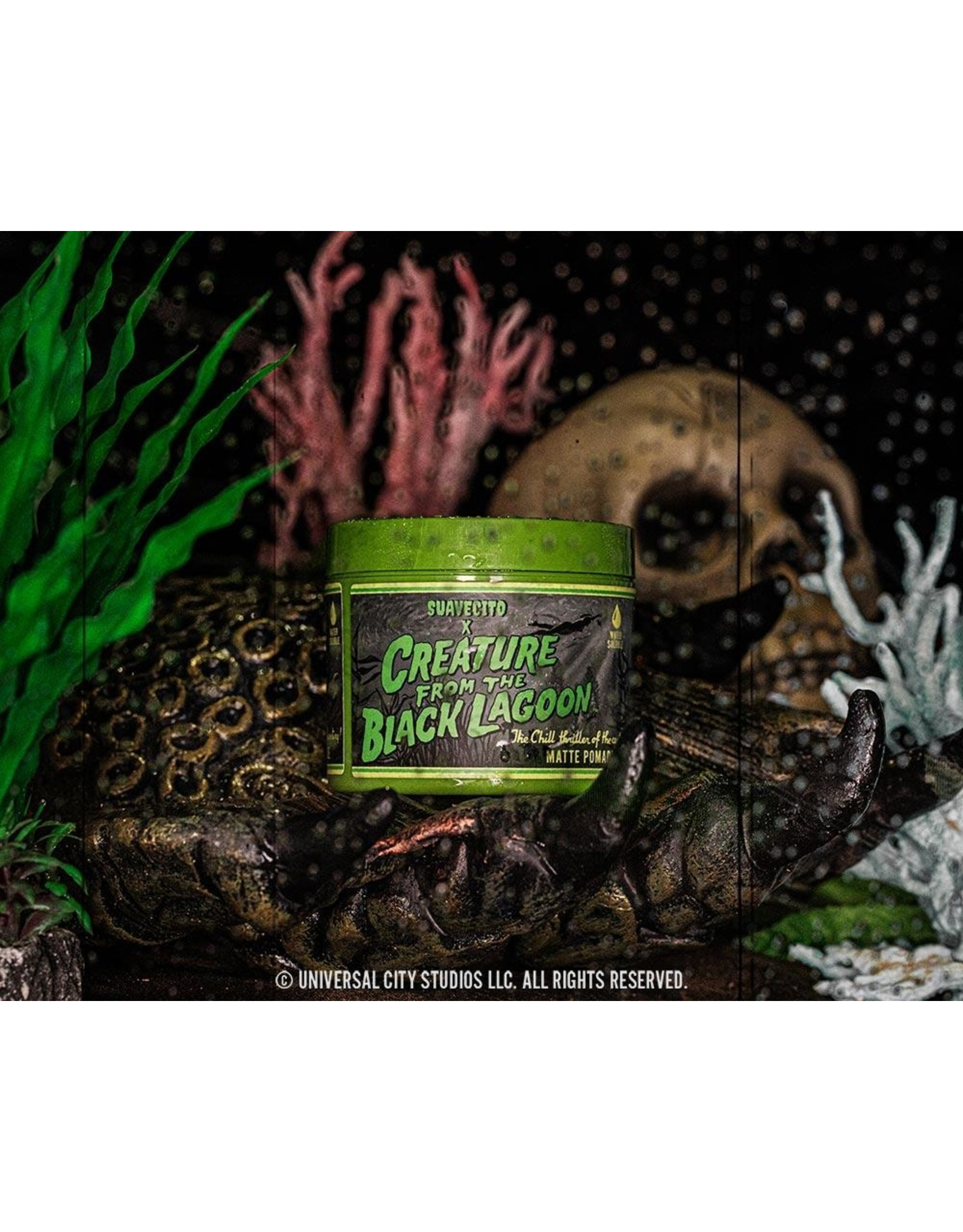 Suavecito Suavecito Creature From The Black Lagoon Pomade Matte LTD