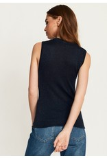 Rut & Circle Stephany Top Midnight Navy Lurex
