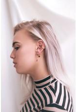 My Jewellery Ear cuff zigzag regenboog strass