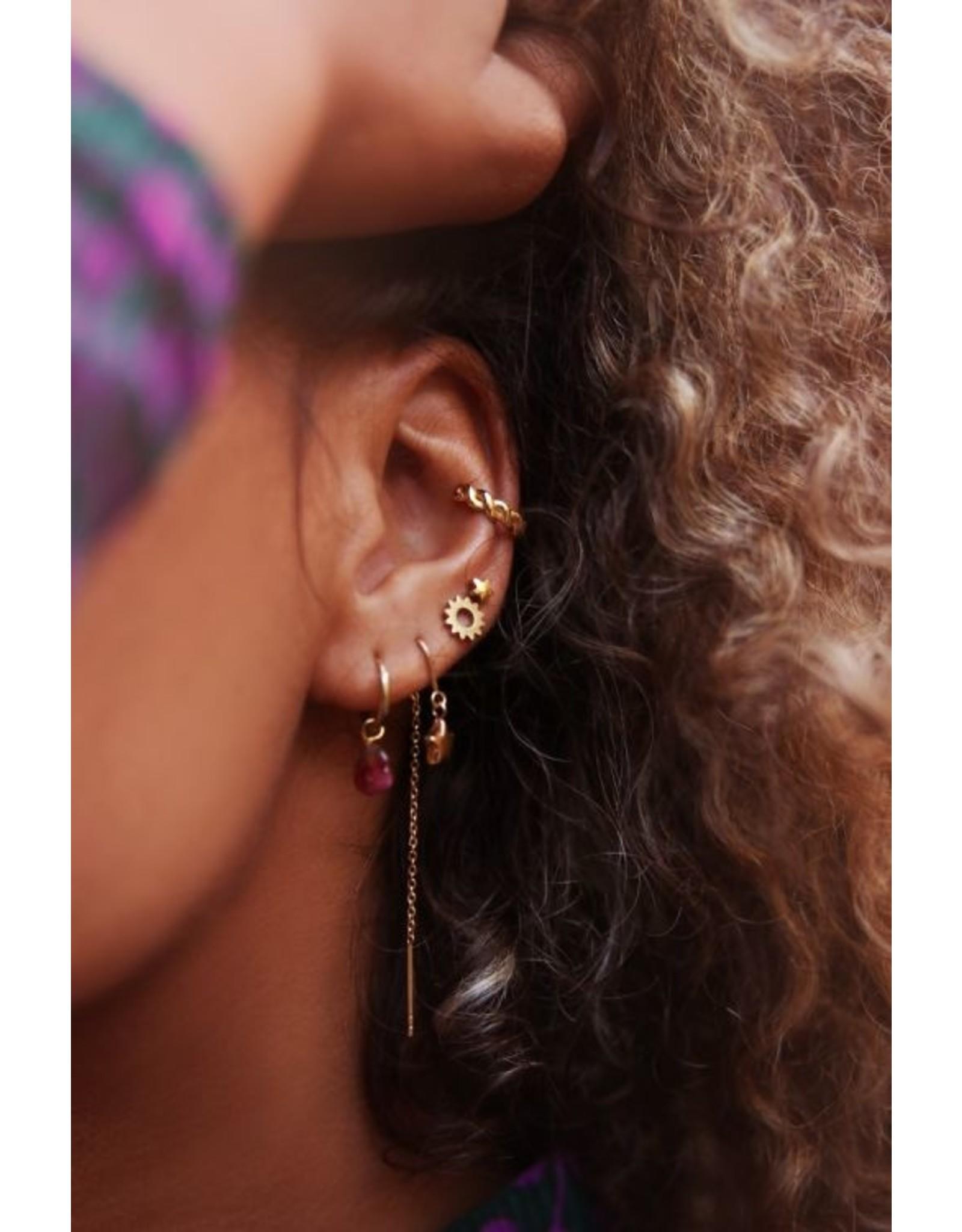 My Jewellery Ear cuff gevlochten