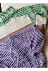Kilky Lila Cable Knit