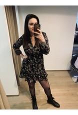 Kilky Black Flower Dress