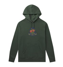 HUF Huf Tenderloin Rose Crest P/O Hoodie - Sycamore