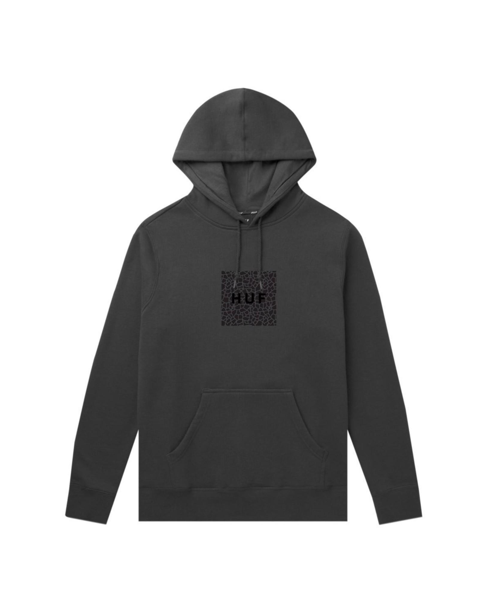 HUF Huf Quake Box Logo P/O Hoodie - Black