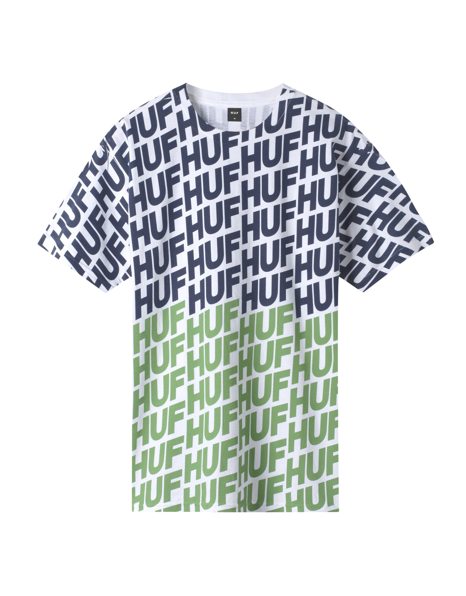 HUF Huf Wave S/S Tee - Hot Lime