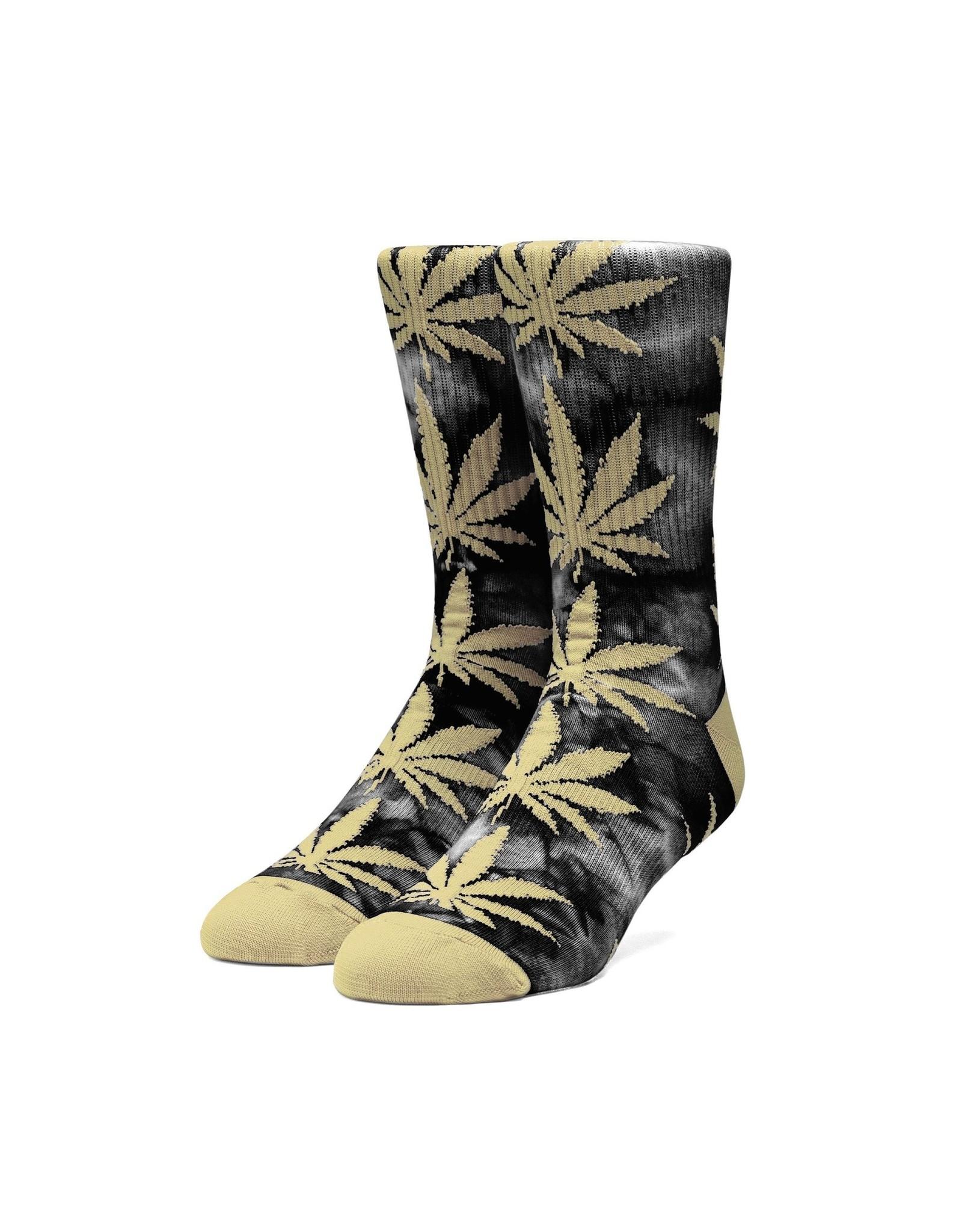 HUF Huf Plantlife Tiedye Socks - Black