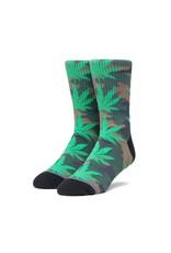 HUF Huf Plantlife Pop Camo Socks - Black