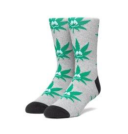 HUF Huf Green Buddy 3PL Socks - Grey Heather