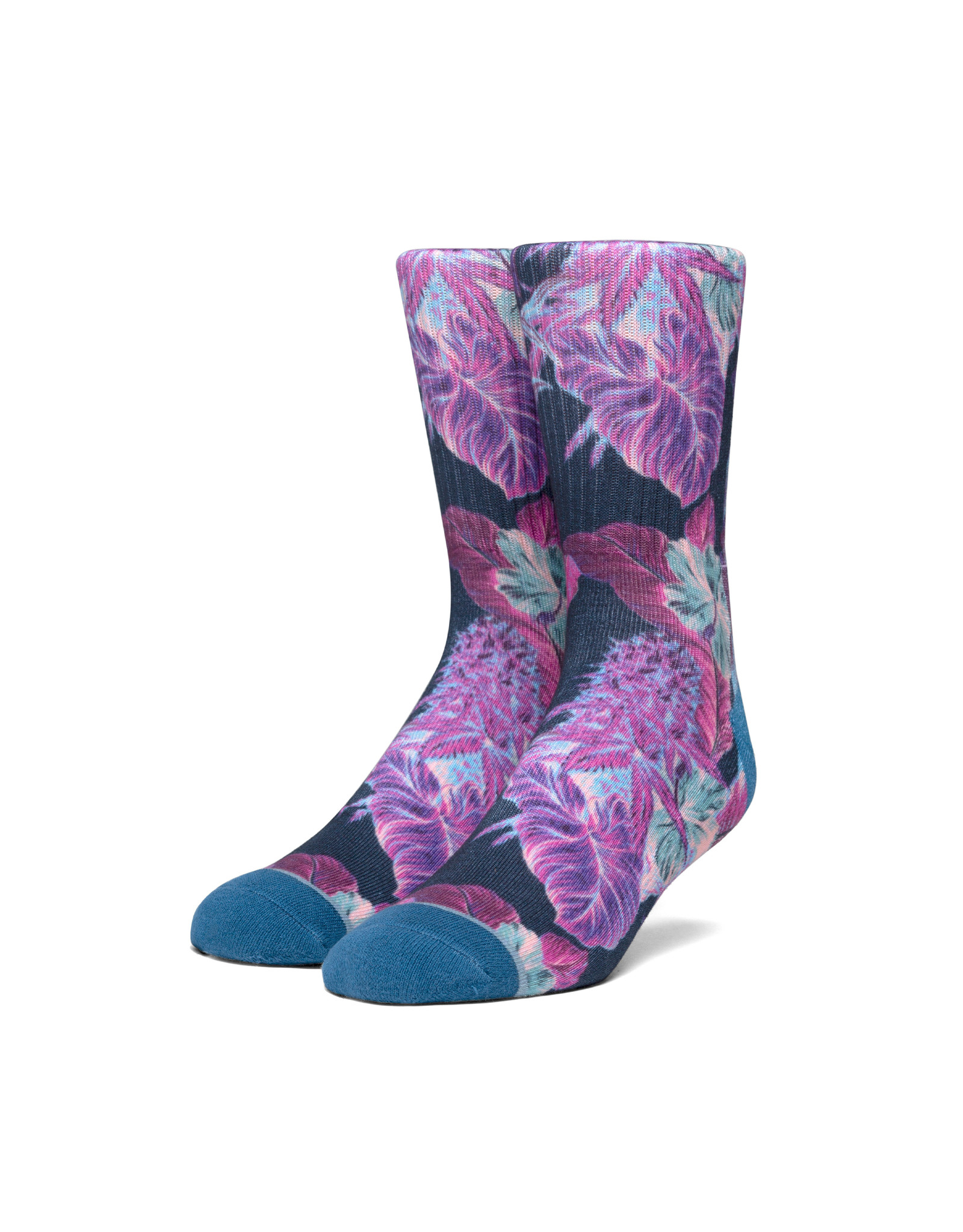 HUF Huf Digital Paraiso Socks - Navy Blazer
