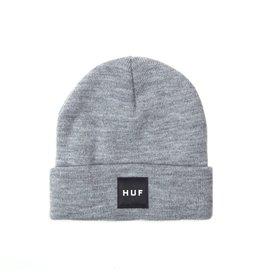 HUF Huf Box Logo Beanie - Grey Heather