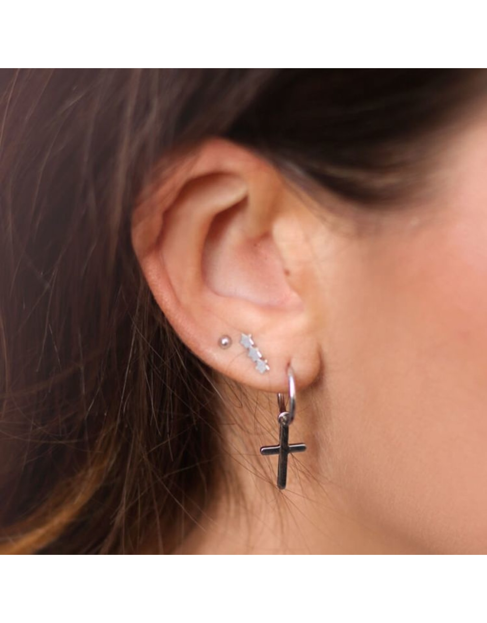 My Jewellery Studs drie schuine sterren