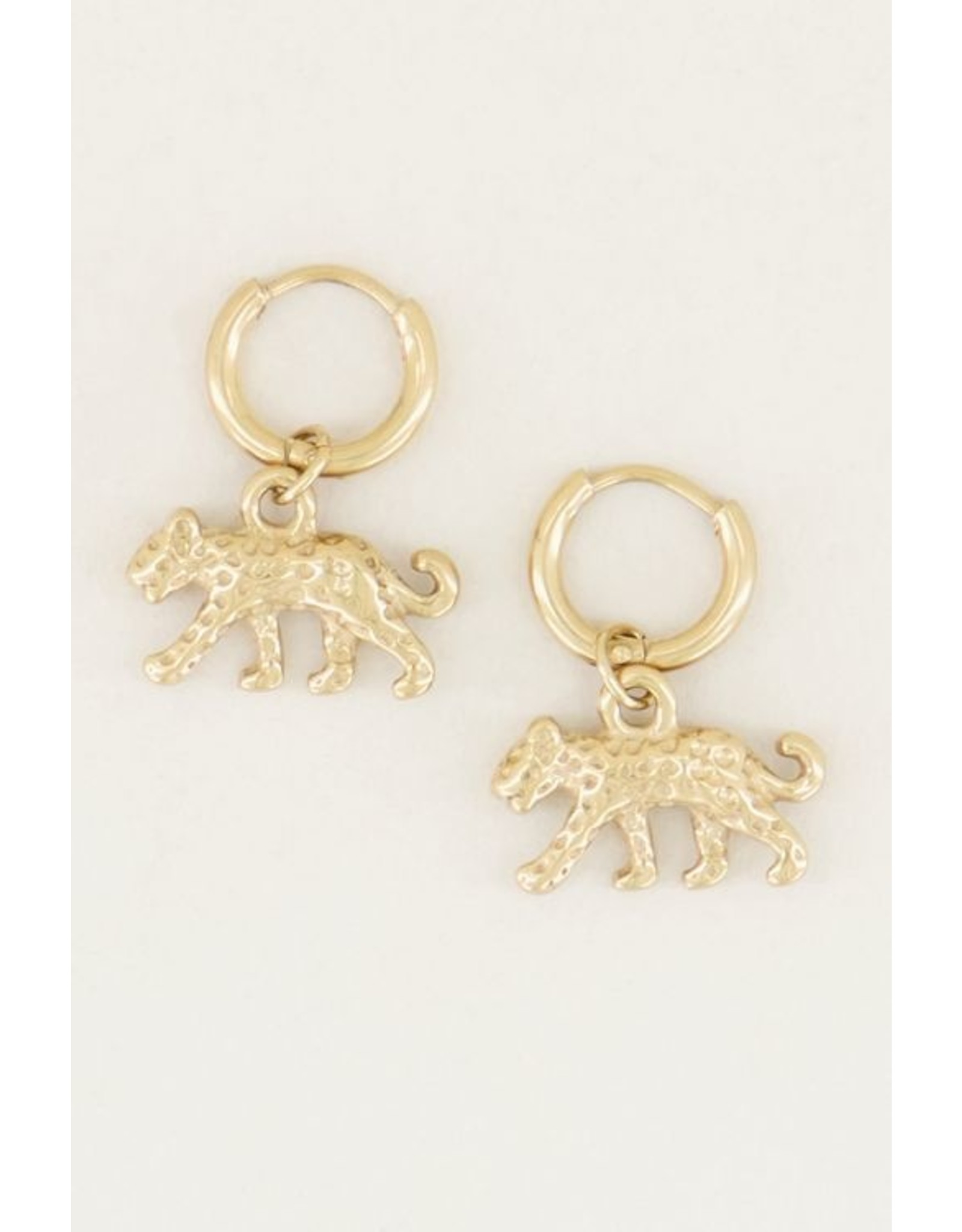 My Jewellery Oorringen Luipaard