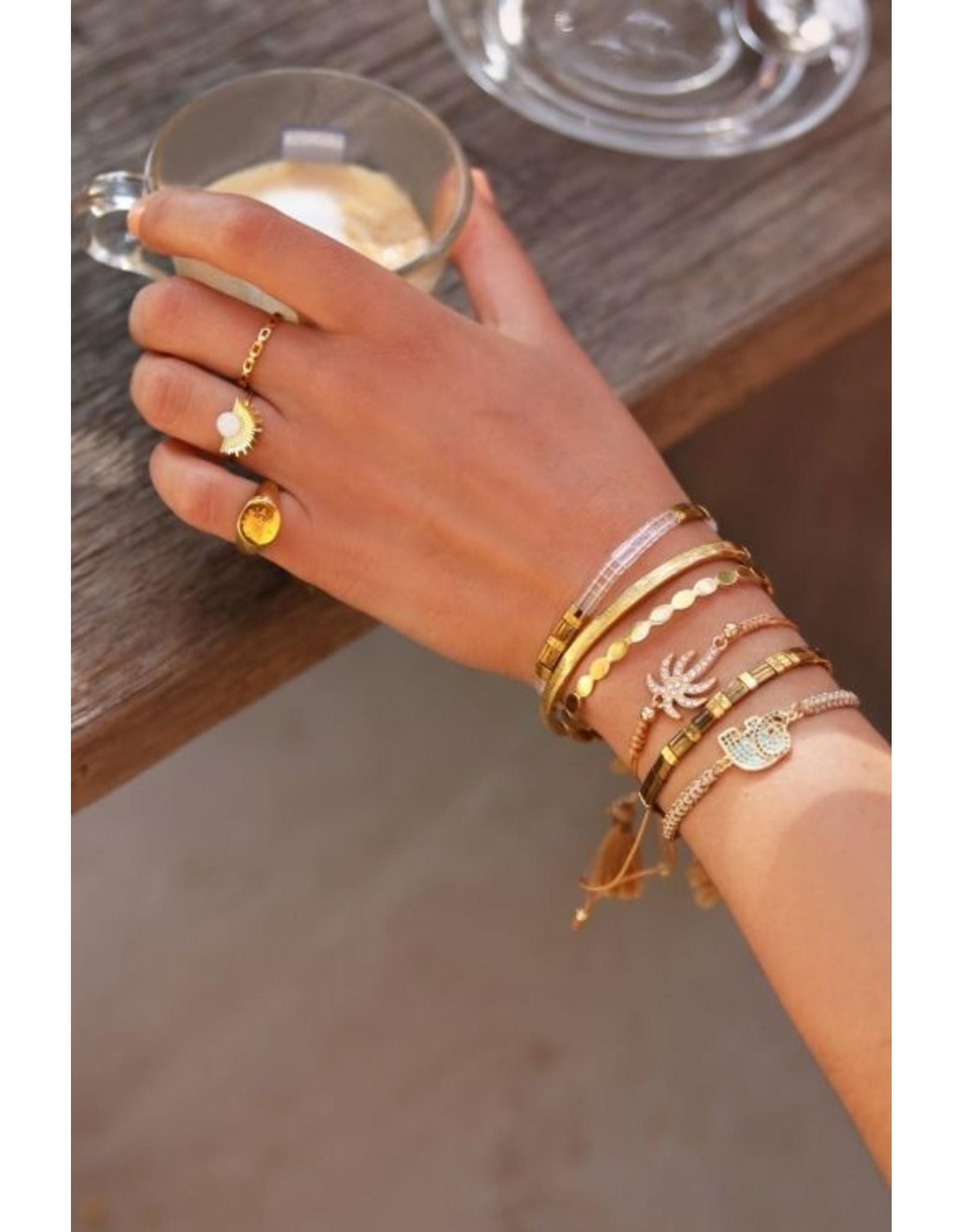 My Jewellery Armband olifant strass