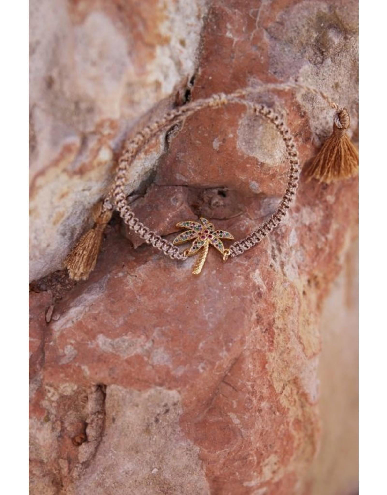 My Jewellery Armband palmboom strass
