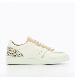 Vanessa Wu White Sneakers with Colored Detailing  BK2145BA