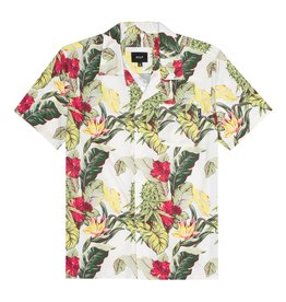 HUF Huf Paraiso Resort S/S Woven Shirt - Natural