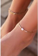 My Jewellery Enkelbandje kralen & parel