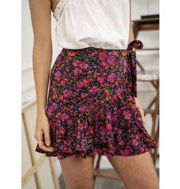 Kilky Fuschia Flower Skirt