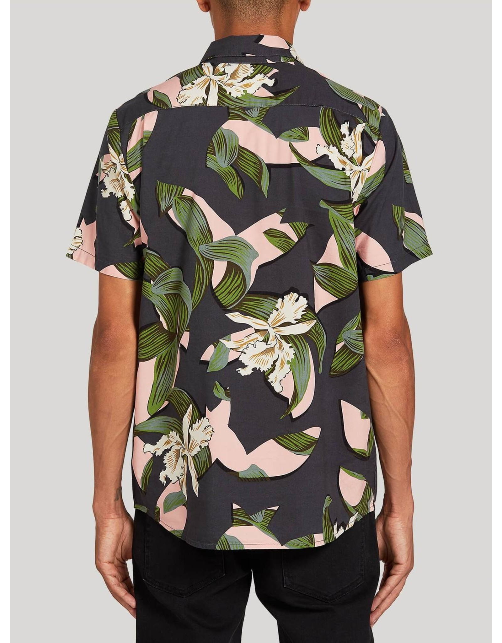 Volcom Cut Out Floral - Dark Charcoal