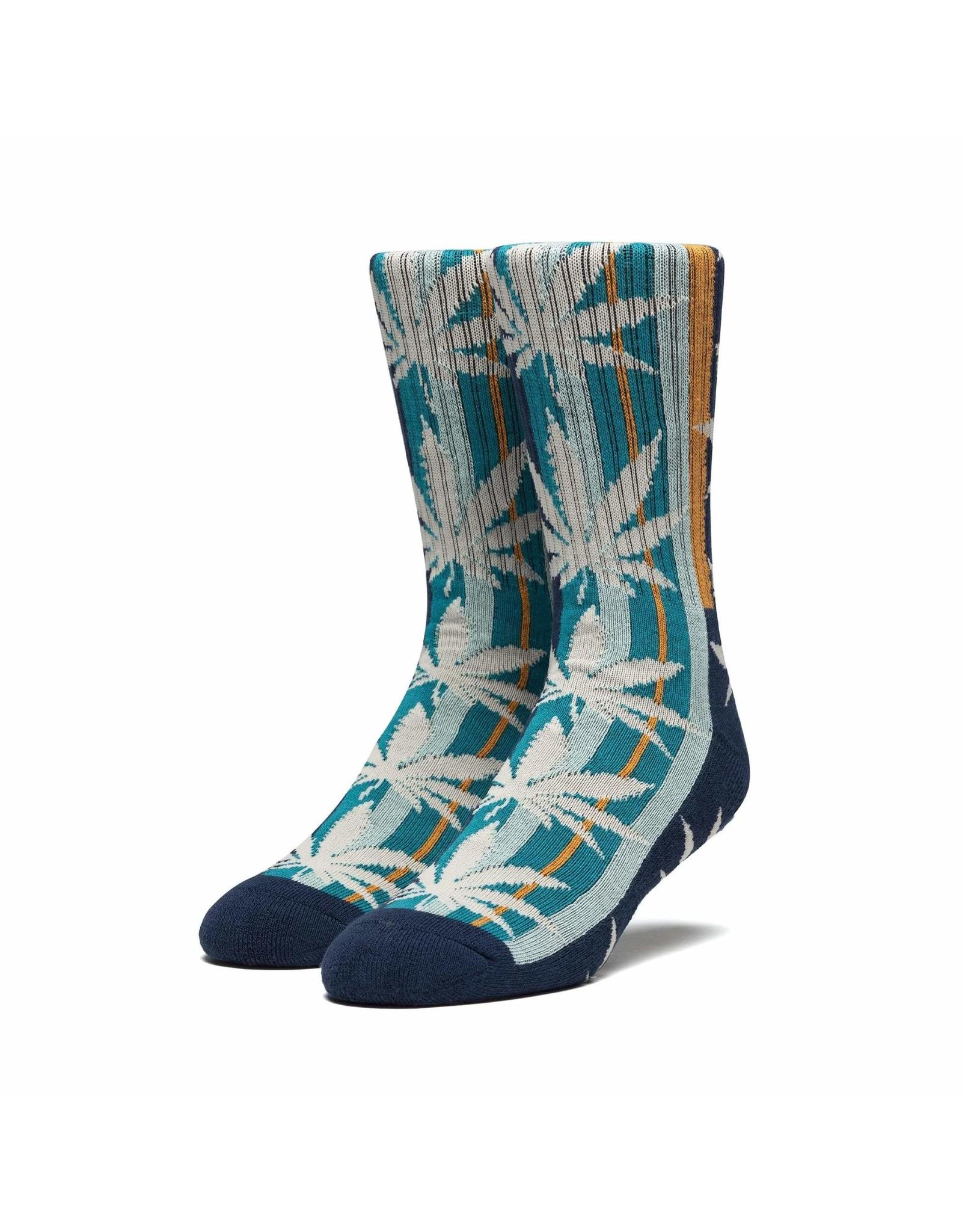 HUF Golden Plantlife Sock - French Navy