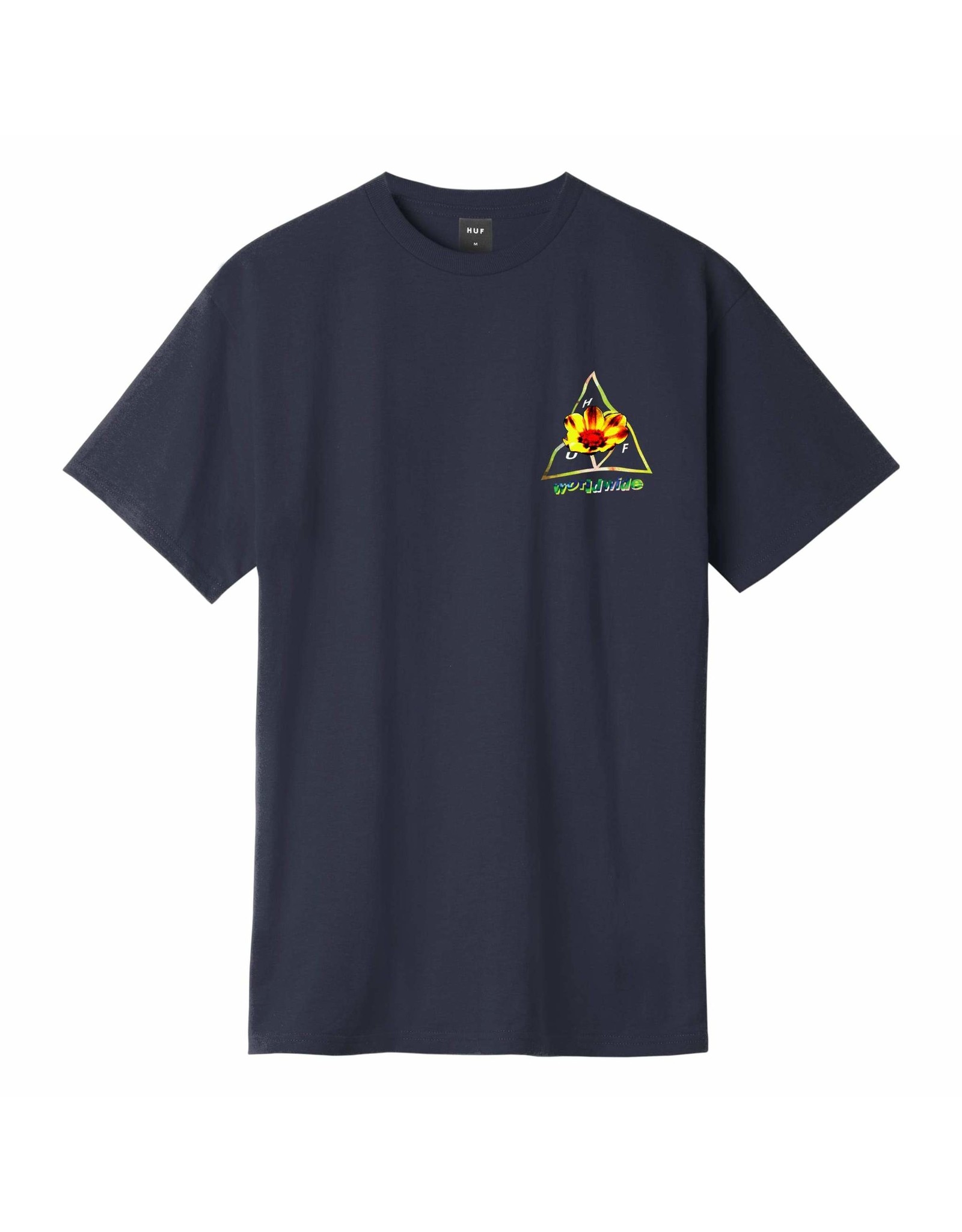 HUF Come Down TT S/S Tee - French navy