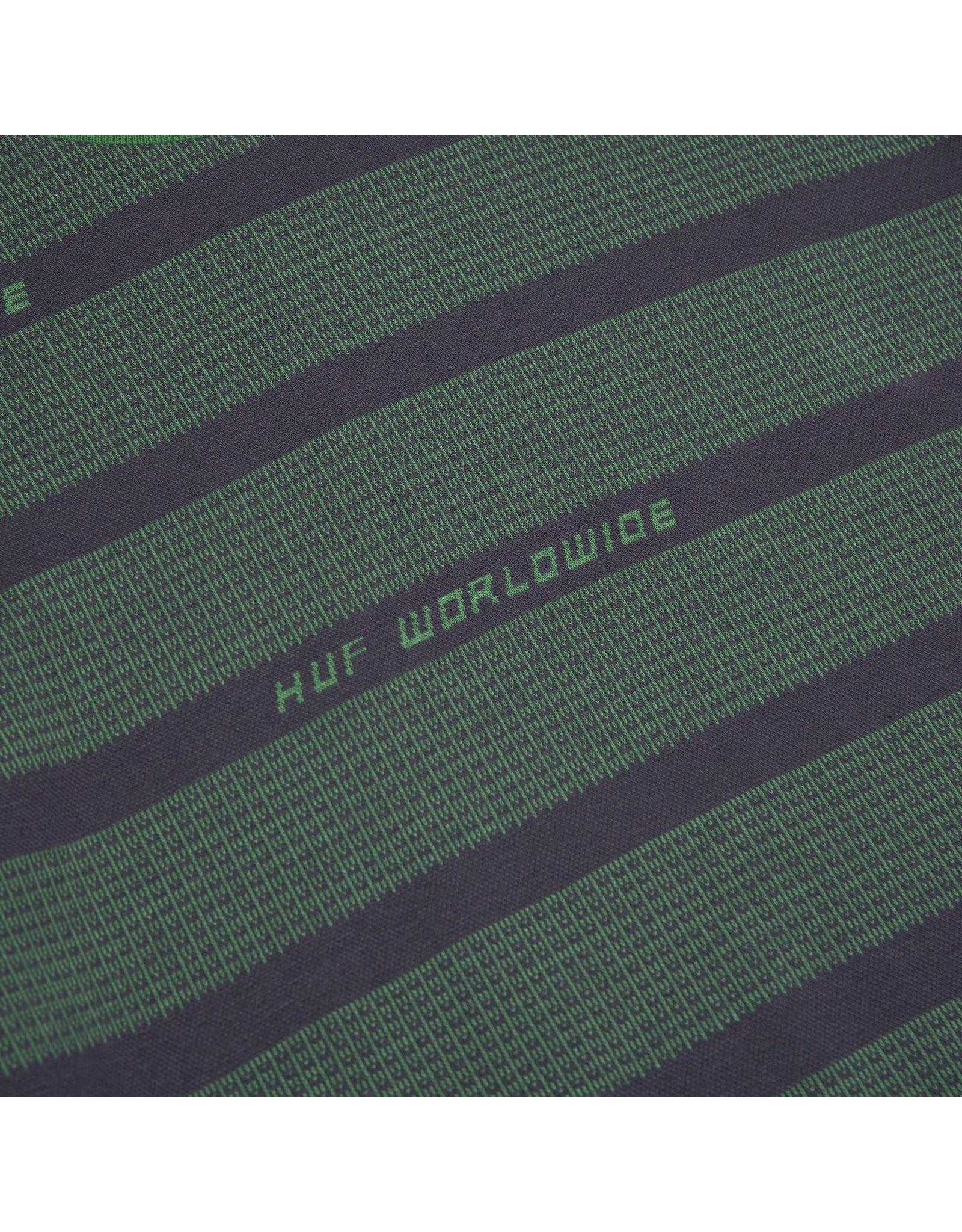 HUF Enzo Striped S/S Knit Top - Dynamic Cobalt