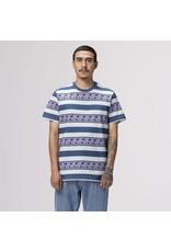 HUF Monarch Stripe S/S Knit Top - Pale Aqua