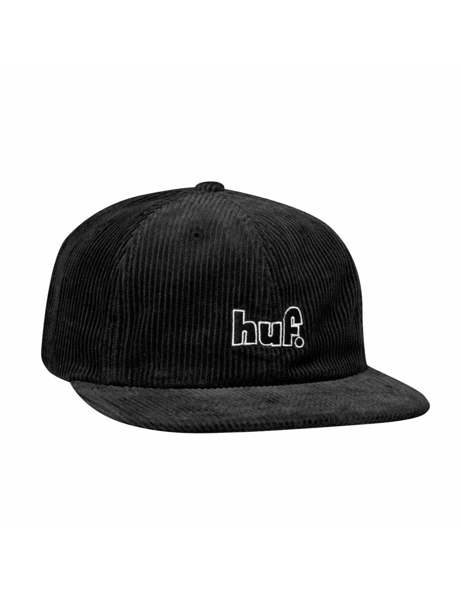 huf` 1993 Logo 6 Panel - Black