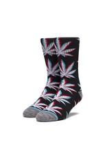 HUF Static Plantlife Sock - Black SK00490
