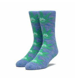 HUF Green Buddy Sock - French Navy